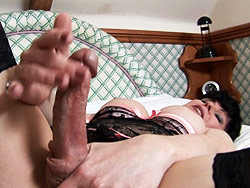 Joanna jet. Joanna Jet Playing With Her considerable Fat cock