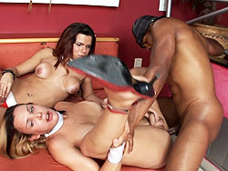 Alexia freire hilda brazil and capoeira. Two Hot Trannies Get Boned By A Black Dude