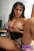 Lanna Lanna as hot secretary .