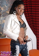Janet  ebony tranny janet posing. Ebony shemale Janet posing