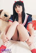 Bailey jay aka harley quinn. Nice teen shemale have intercourse her ass with a toy