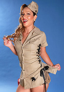 Khloe hart. TS scout Khloe strips and poses