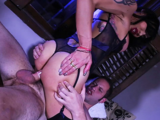 Eva paradis and wolf 2. Amazing Eva riding an enormous dick