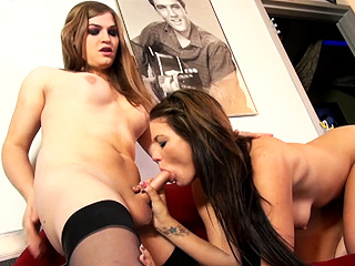 Tiffany starr and jenica. Naughty Tiffany Starr banging a exciting chick