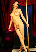 Danika dreamz. Appealing Danika strip dancing by the pole