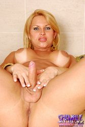 Carla renata. Carla Renata Showing Us Her voluminous Juicy cock